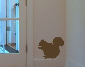 Squirrel Vinyl Decal