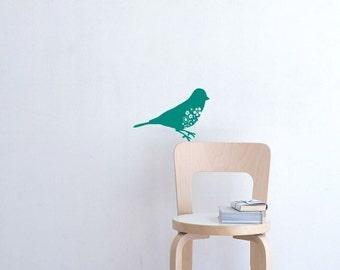 Blue Bird Wall Decal