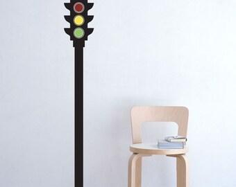 Traffic Light vinyl Decal