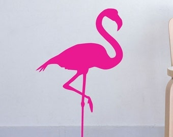 Flamingo Fun vinyl decal