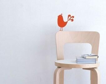 Chick-a-doo vinyl decal