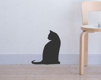 Cat  vinyl Decal