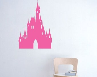 Wall decal NEW DESIGN- Big Castle