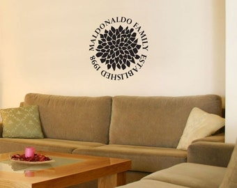 Family Established Mum Decal