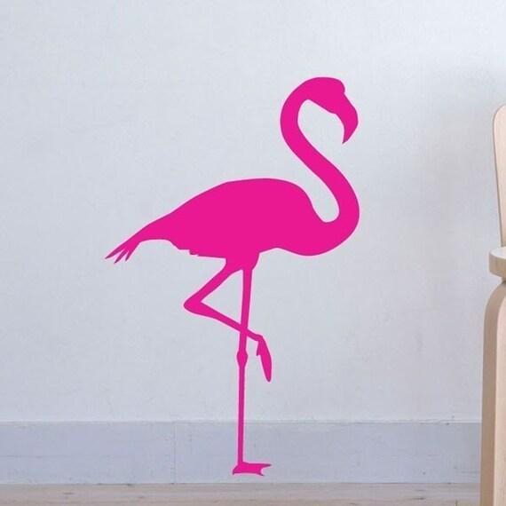 Flamingo Fun vinyl decal