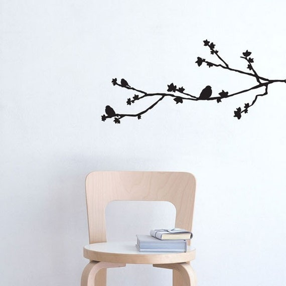 Sophia- birds on branch decal