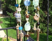 Ricky Garbage Chime - Upcycled Hemp Wind Chime