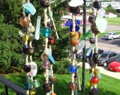 The Universe Chime - Upcycled Hemp Wind Chime