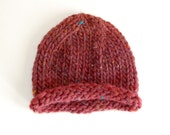 CLEARANCE - Ready-to-ship Pea Pod Hat - Cinnamon