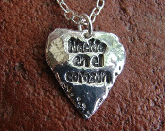 Guatemala Necklace-Nacido en el Corazon- Born in the Heart