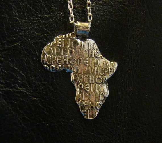 Africa Necklace-HOPE for Children necklace