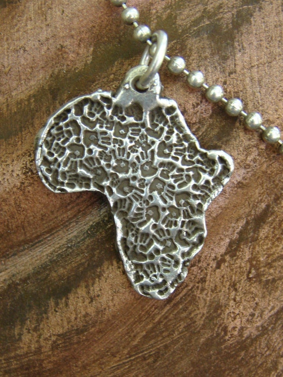 Africa necklace-Hands for Africa-