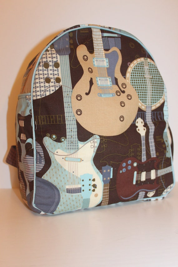 Guitar Backpack for a Toddler- Ready to Ship