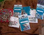Swarovski crystal sliders - multiple colors and styles