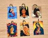 6 tiny pendants MEXICANA Set 2