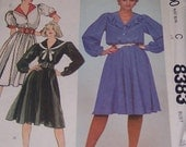 McCalls Pattern 8383 Made-For-You Size 14 Bust 36 Vintage 80s Uncut