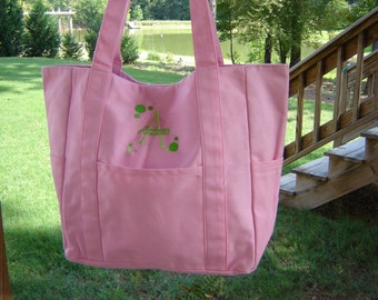 Canvas Diaper Bag
