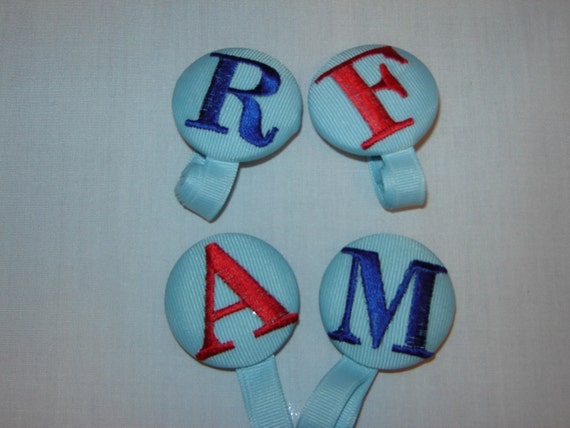 Pacifier Clips for the young man even works with Soothie Pacifiers