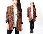 vintage southwestern blazer xl