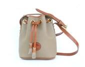vintage DOONEY and BOURKE leather bucket bag