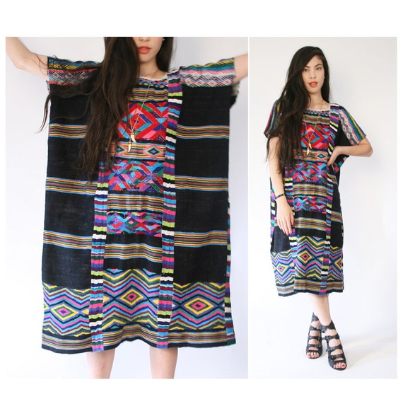 vintage heavily embroidered dress