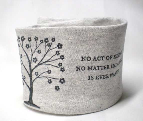 Wrist Cuff Wallet - Trees of Kindness - Eco-Friendly