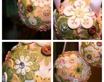 Custom Felt Flower Bouquet Pomanders
