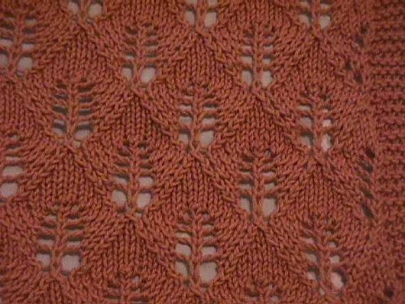 Hand Knit Lace Throw Wrap Shawl