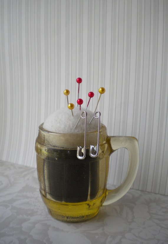 Reserved for jodiboo - Root Beer Float Pincushion