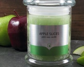 Apple Slices - Highly fragrant palm wax candles - true to life