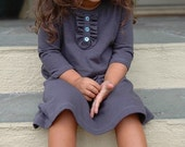 Steel custom dress -- sizes 6 months to 8 years