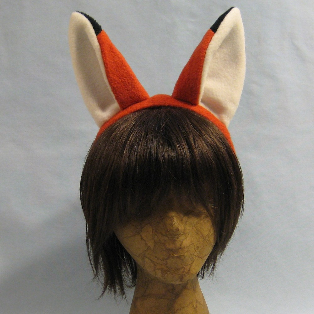 fox ears jump animal - photo #24