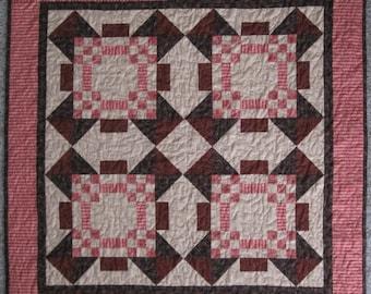 Bashful Stars 40x40 quilt pattern