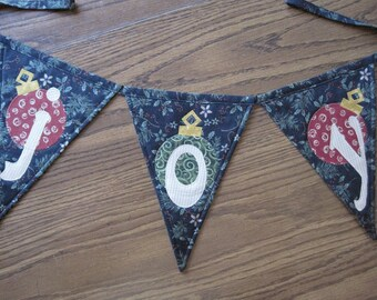 Holiday Banner/Pennant pattern