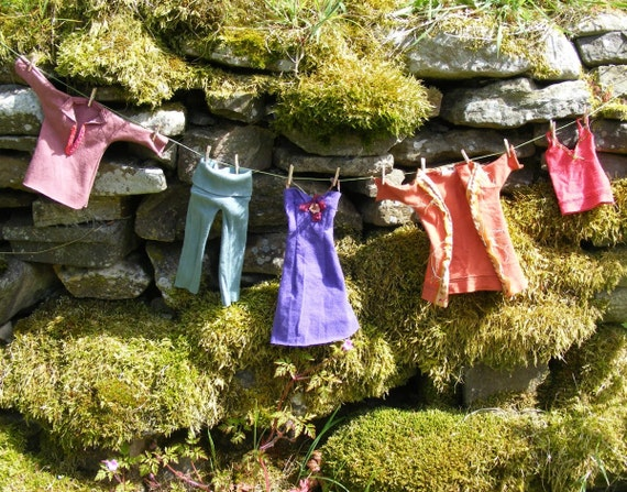 Washing Line Miniature Clothes Line Garland Bunting By Artizen