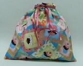 Yummy Cupcakes Drawstring Bag