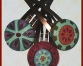 Rio Flowers - A Trio of Hair Clips