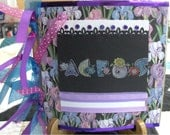 REDUCED BY FIVE BUCKS ACEO album ABHS  MEMBER  Paper Sack Album holds over 50 aceos accessory