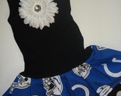 Indianapolis Colts Infant / Toddler Tank Dress Avail 6 months - Size 7