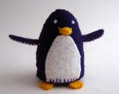 Mutant Pengy - Small Felt Plush by Amy