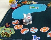 SALE  Leaping Frog Lake Imagination Play Mat