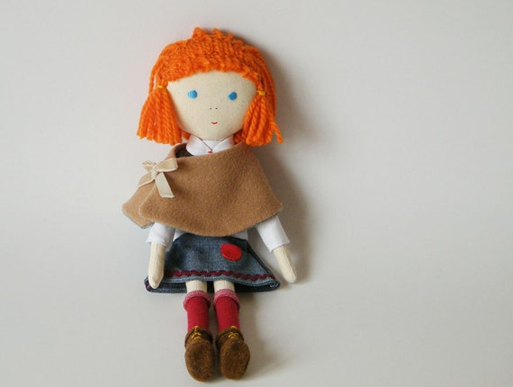 little girl with honey-colored cape