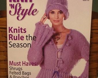 Knit N' Style Feb 2006 Magazine