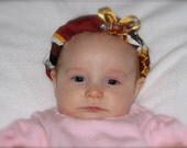 Carlykins Boutique Baby Girl Hair Bow Headband Washington DC Redskins NFL Infant, Toddler, 0-12 months, 18 months