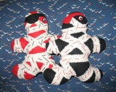 Pirate Mini-Mum Pair -- RESERVED FOR Sara S.