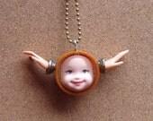 Angel Doll Face Pendant