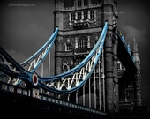 Tower Bridge from the right, London, UK - 8x10 print