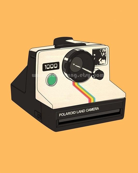 Polaroid Land Camera 1000 (not a real camera)