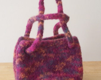 Petite Felted Handbag