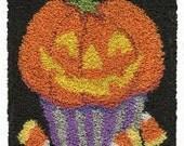 Pumpkin Cupcake Punchneedle Pattern